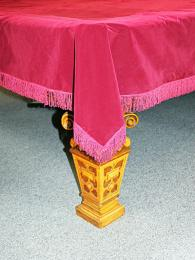 Burgundy - Full-size and 10ft -Dust Covers £145.00