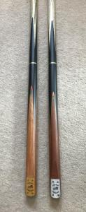 2PC CUES £34.95 EACH.